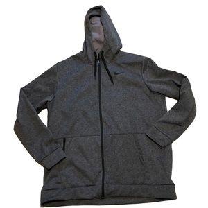 Nike Grey Therma Fleece Hoodie XL